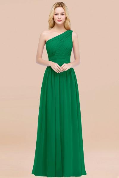 Elegant A-Line Chiffon One-Shoulder Sleeveless Ruffles Floor-Length Bridesmaid Dresses_49