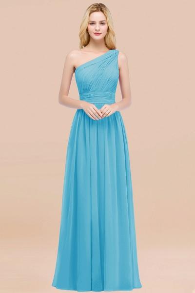 Elegant A-Line Chiffon One-Shoulder Sleeveless Ruffles Floor-Length Bridesmaid Dresses_24