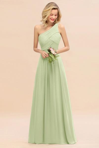 BM0756 Elegant Ruffles One Shoulder Long Bridesmaid Dress_35