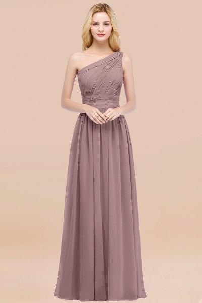 Elegant A-Line Chiffon One-Shoulder Sleeveless Ruffles Floor-Length Bridesmaid Dresses_37