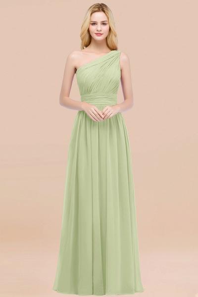 Elegant A-Line Chiffon One-Shoulder Sleeveless Ruffles Floor-Length Bridesmaid Dresses_35