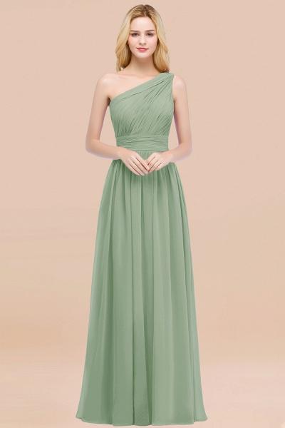 Elegant A-Line Chiffon One-Shoulder Sleeveless Ruffles Floor-Length Bridesmaid Dresses_41