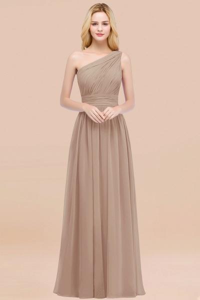 Elegant A-Line Chiffon One-Shoulder Sleeveless Ruffles Floor-Length Bridesmaid Dresses_16