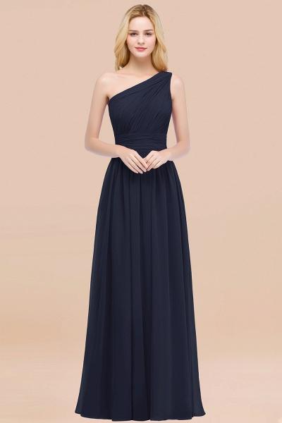 Elegant A-Line Chiffon One-Shoulder Sleeveless Ruffles Floor-Length Bridesmaid Dresses_28