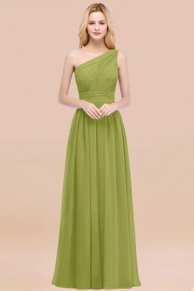 Elegant A-Line Chiffon One-Shoulder Sleeveless Ruffles Floor-Length Bridesmaid Dresses_34