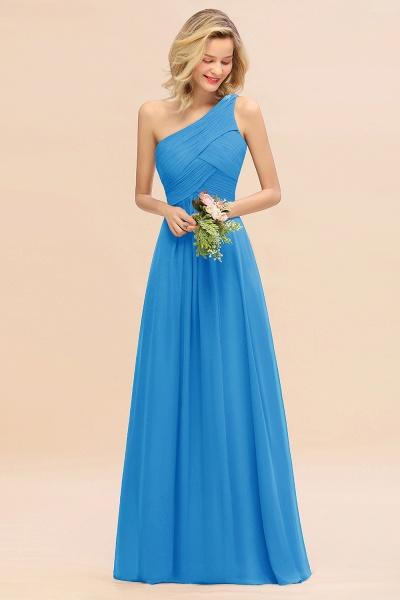 BM0756 Elegant Ruffles One Shoulder Long Bridesmaid Dress_25