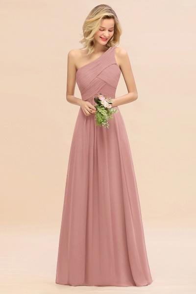 BM0756 Elegant Ruffles One Shoulder Long Bridesmaid Dress_50