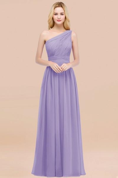 Elegant A-Line Chiffon One-Shoulder Sleeveless Ruffles Floor-Length Bridesmaid Dresses_21