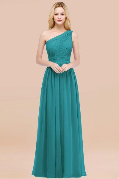 Elegant A-Line Chiffon One-Shoulder Sleeveless Ruffles Floor-Length Bridesmaid Dresses_32