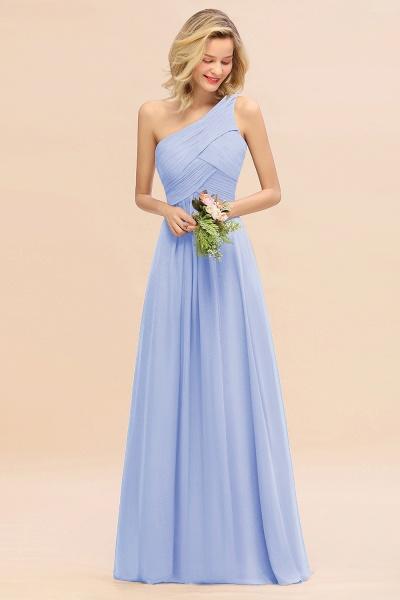 BM0756 Elegant Ruffles One Shoulder Long Bridesmaid Dress_22