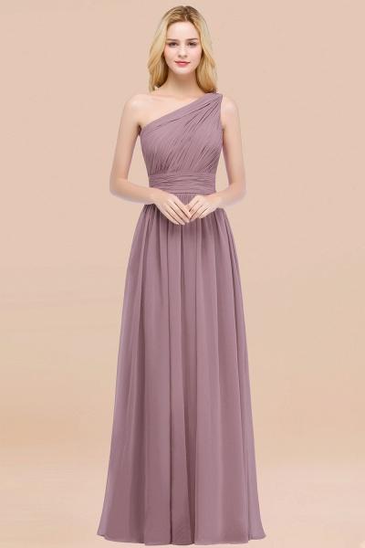 Elegant A-Line Chiffon One-Shoulder Sleeveless Ruffles Floor-Length Bridesmaid Dresses_43
