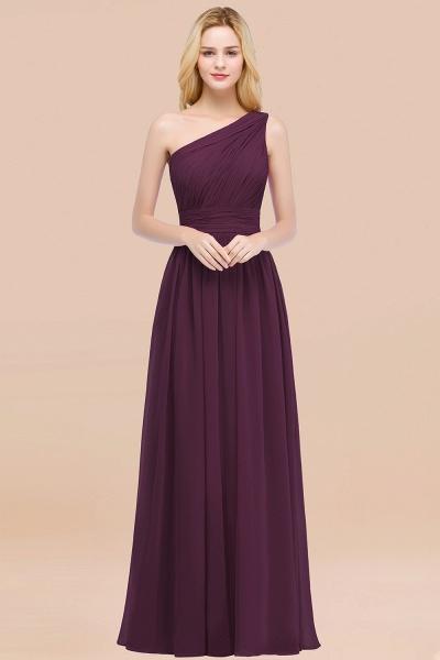 Elegant A-Line Chiffon One-Shoulder Sleeveless Ruffles Floor-Length Bridesmaid Dresses_20
