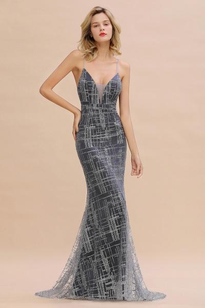 Elegant Mermaid Sleeveless Long Evening Dress_6
