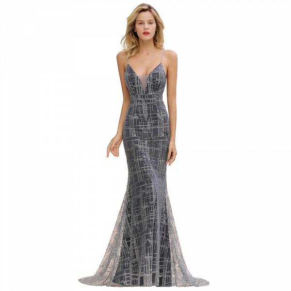 Elegant Mermaid Sleeveless Long Evening Dress_4