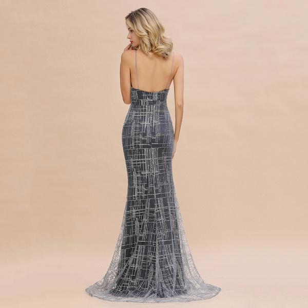 Elegant Mermaid Sleeveless Long Evening Dress_13