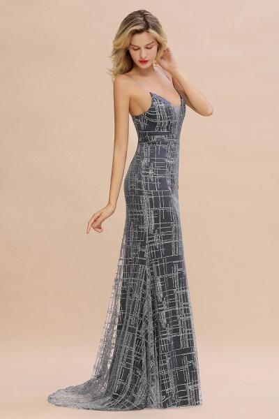 Elegant Mermaid Sleeveless Long Evening Dress_8