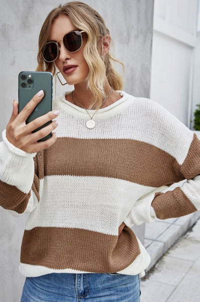SD1900 Long Sleeve Knitted Sweater_7
