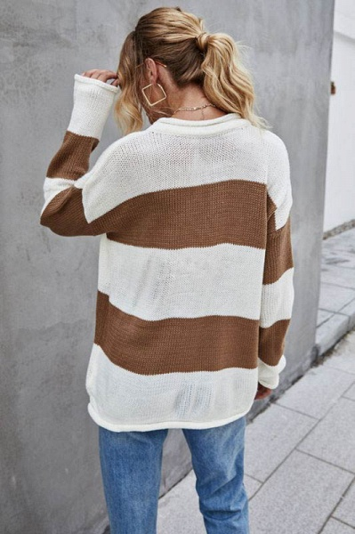 SD1900 Long Sleeve Knitted Sweater_4