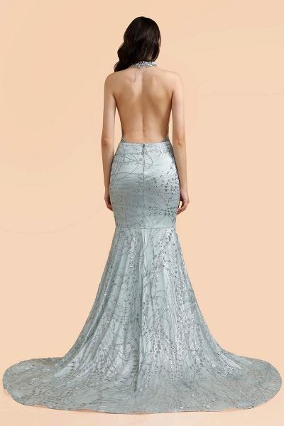 Precious Halter Sequined Mermaid Prom Dress_3