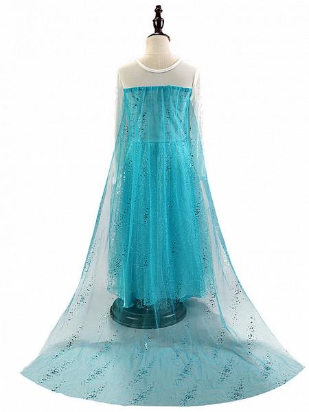 Sheath / Column Floor Length / Long Length Party / Birthday Chiffon / Tulle Long Sleeve Jewel Neck With Crystals / Splicing / Crystals / Rhinestones_4
