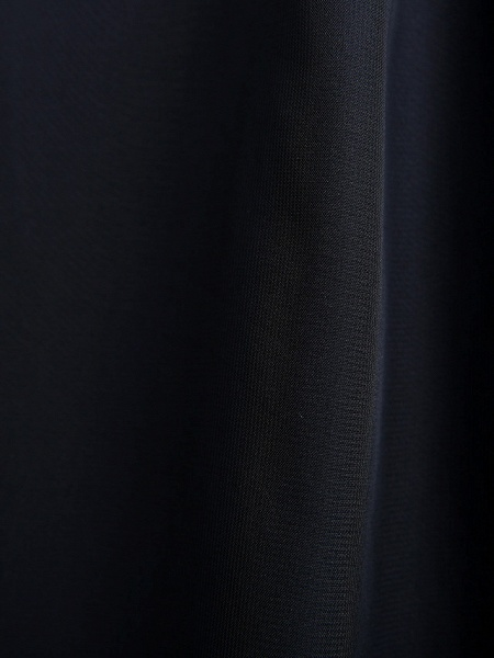 Sheath / Column One Shoulder Floor Length Chiffon Junior Bridesmaid Dress With Side Draping / Natural_12
