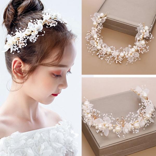 Alloy Pearls Crystal Headbands_3