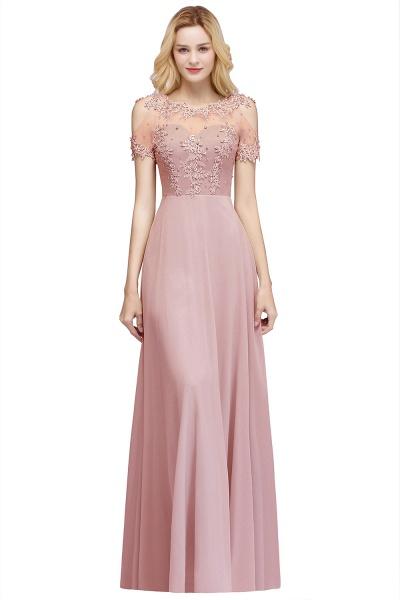 Fabulous Jewel Chiffon A-line Prom Dress_1