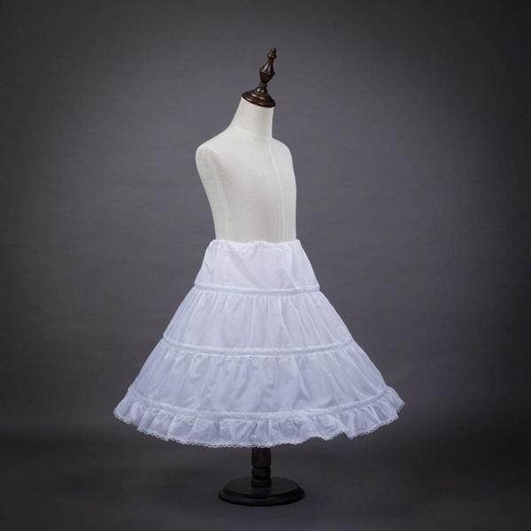 Tulle Nylon Full Gown Slip Petticoat_2