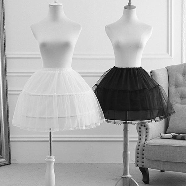 Flower Girl Polyester Petticoat_3