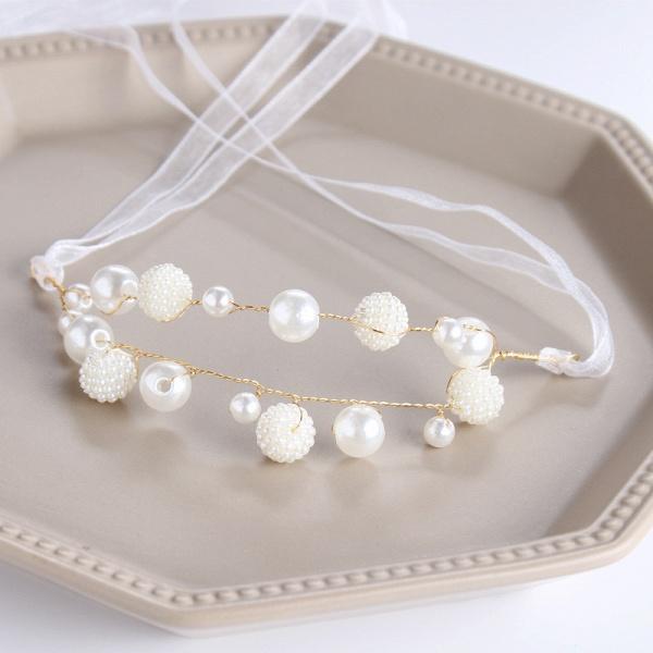 CPA2919 Pearls Ribbon Flower Girl Wristband_3