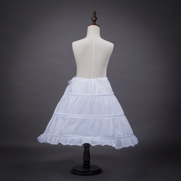 Tulle Nylon Full Gown Slip Petticoat_3