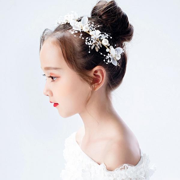 Alloy Pearls Crystal Headbands_5