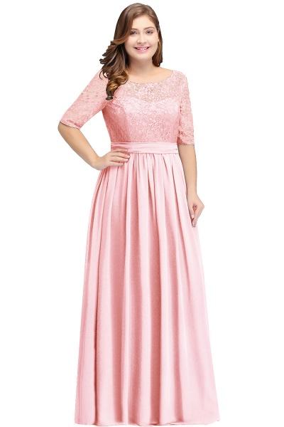 Fascinating Jewel Chiffon A-line Evening Dress_2