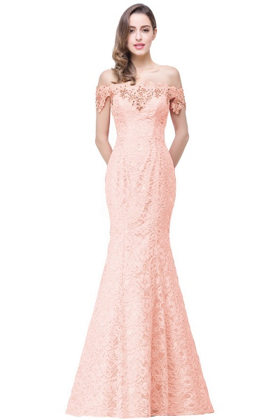EMMALYNN | Mermaid Off Shoulder  Floor-Length Lace Bridesmaid Dresses_4