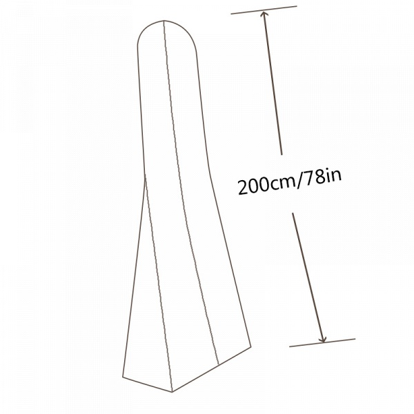 CPA2946 Sheer Long Dress Length 200cm Garment Bags_4
