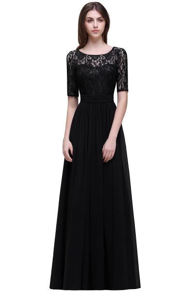 Fascinating Jewel Chiffon A-line Evening Dress_7