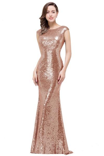 EVELYNN | Mermaid Floor-Length Sleeveless Scoop Sequins Prom Dresses_1