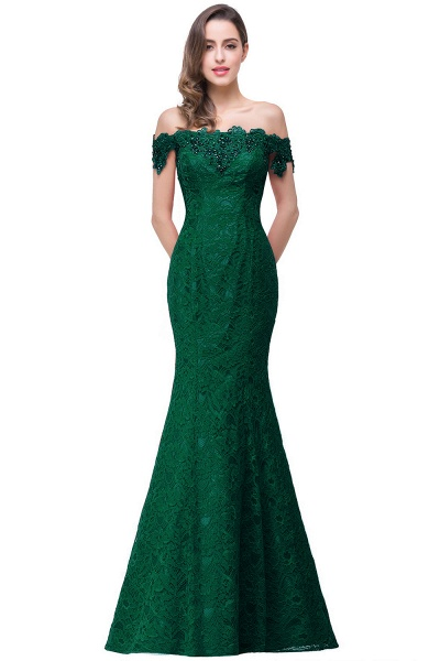 EMMALYNN | Mermaid Off Shoulder  Floor-Length Lace Bridesmaid Dresses_13