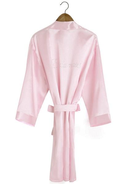 Personalized Rhinestone Bridesmaid & Bridal Robes_5