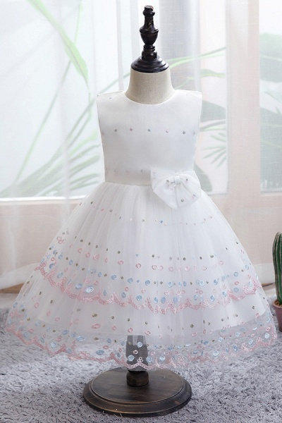 FS9970 Bow Scoop Sleeveless Ball Gown Wedding Dress_1