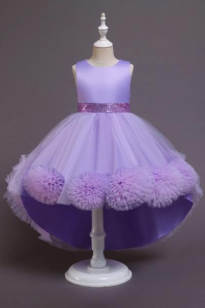 FS9980 Green Scoop Jewel Flower Girl Dress For Wedding_5