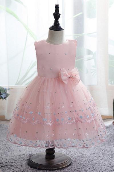 FS9970 Bow Scoop Sleeveless Ball Gown Wedding Dress_2