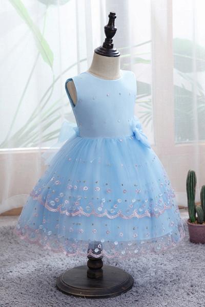 FS9970 Bow Scoop Sleeveless Ball Gown Wedding Dress_4