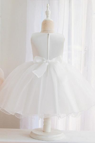 FS9966 Appliques Sleeveless Scoop Ball Gown Wedding Dress_7