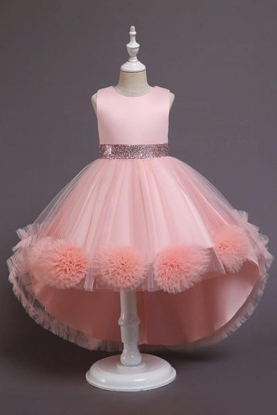 FS9980 Green Scoop Jewel Flower Girl Dress For Wedding_2