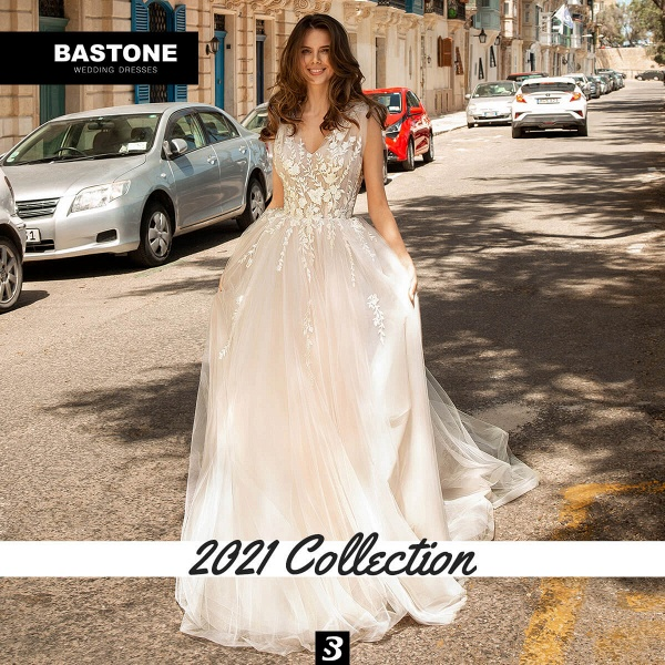 CN261L Wedding Dresses A Line NEW 2021 Collection_2