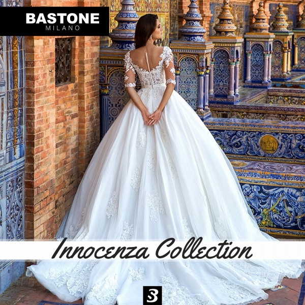IC028L Wedding Dresses Ball Gown Innocenza Collection_2