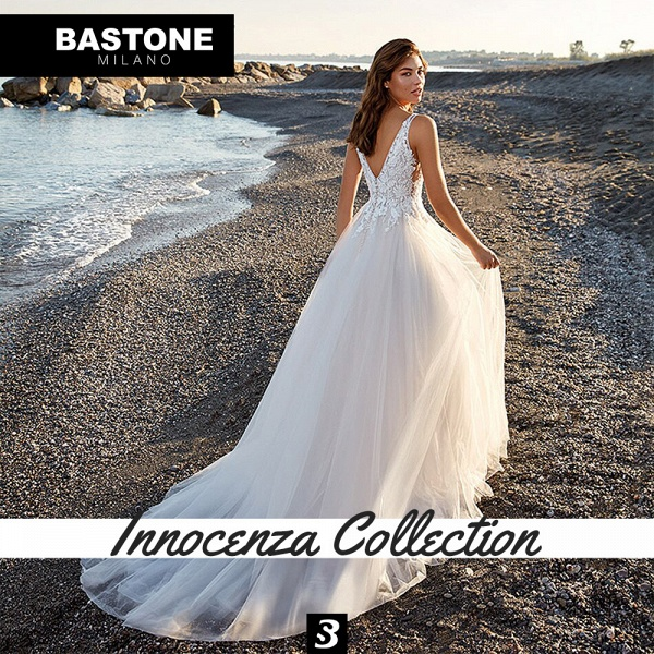 IC146L Wedding Dresses A Line Innocenza Collection_2