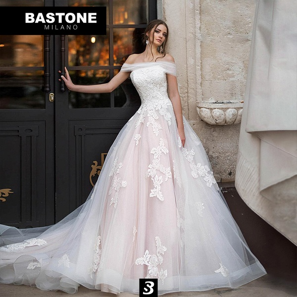 LL171L Wedding Dresses A Line Luxury Line_1