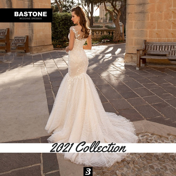 CN265L Wedding Dresses Mermaid NEW 2021 Collection_2